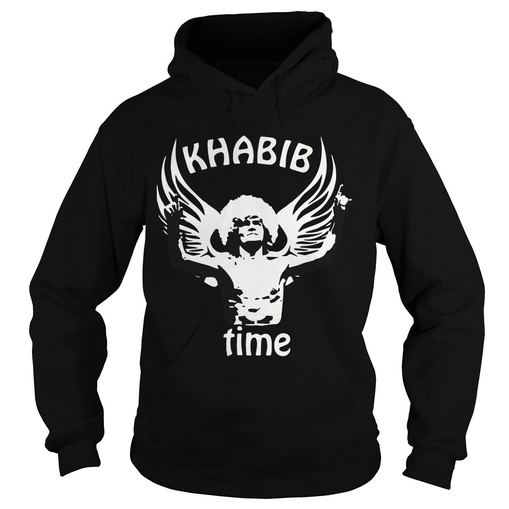 Russian Eagle Mma Las Vegas 2018 Fight Khabib Time Hoodie