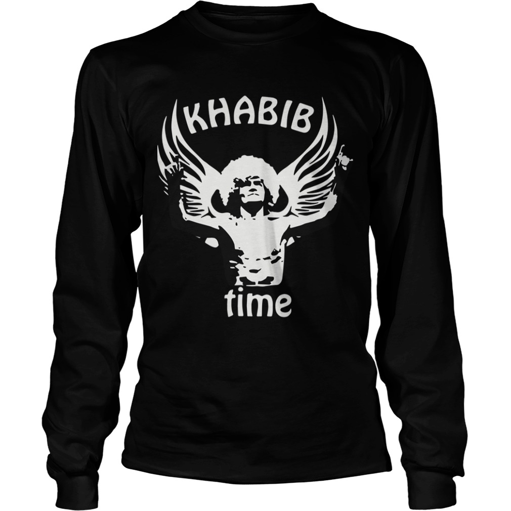 Russian Eagle Mma Las Vegas 2018 Fight Khabib Time Longsleeve Tee
