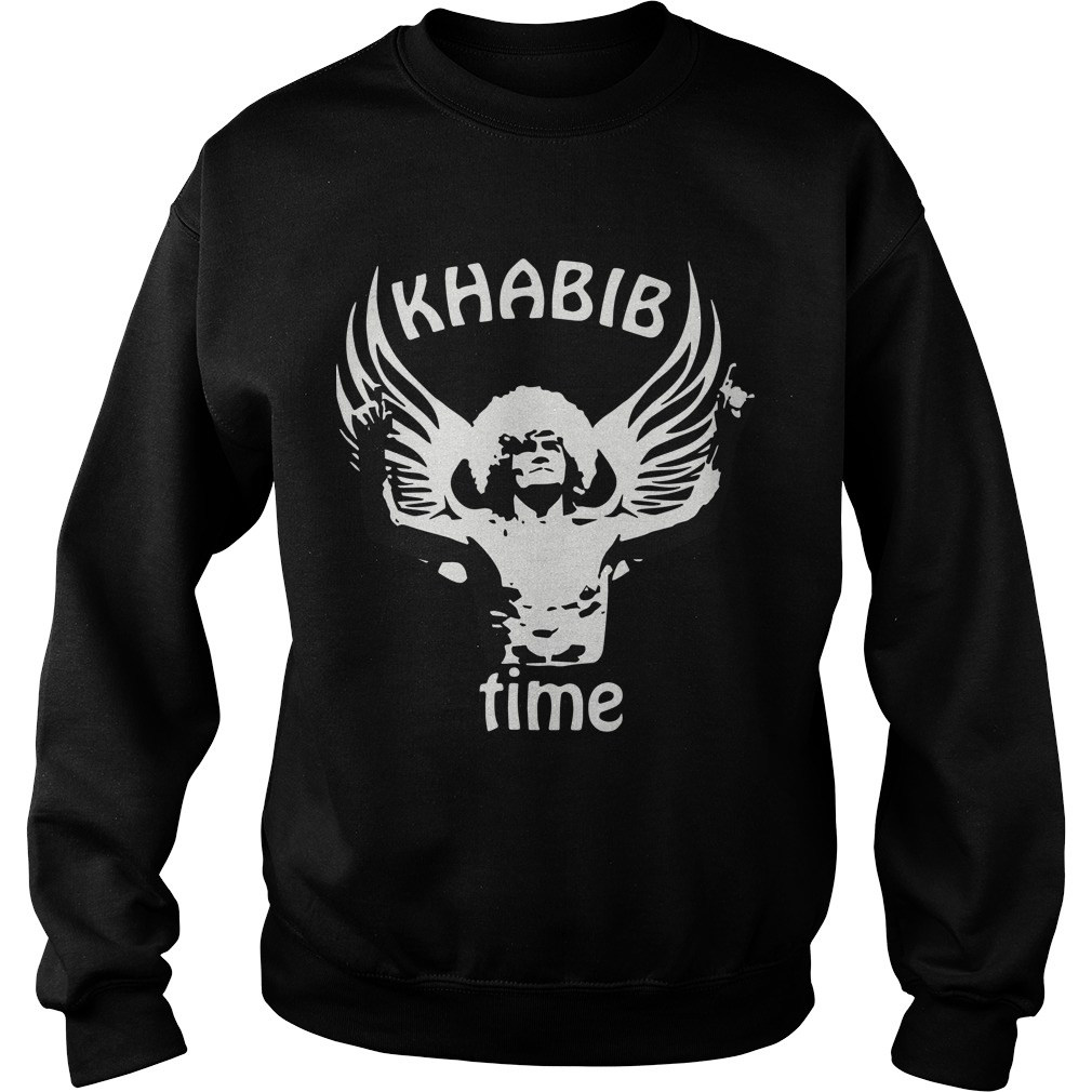 Russian Eagle Mma Las Vegas 2018 Fight Khabib Time Sweater