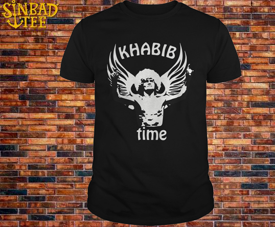 Russian Eagle Mma Las Vegas 2018 Fight Khabib Time T Shirt