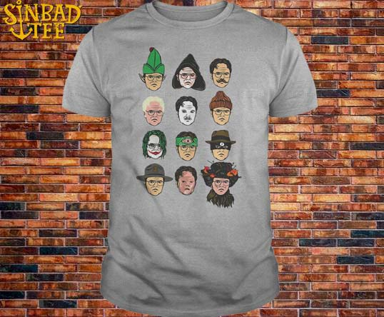 Rainn Wilson The Twelve Dwight's Of Schrute-Mas Shirt