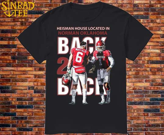 Heisman House Located In Norman Oklahoma Shirt