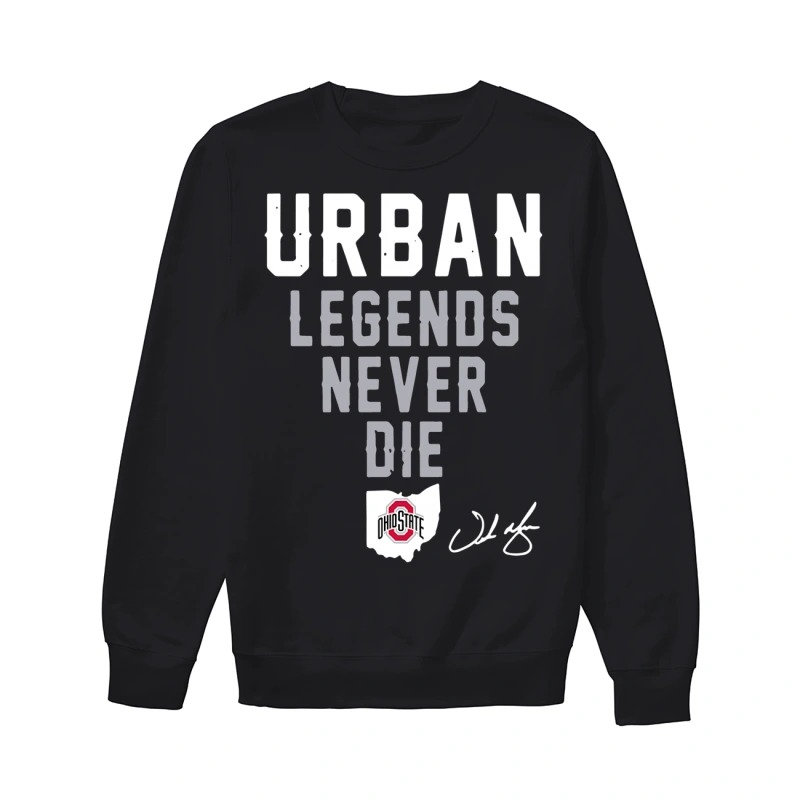 Ohio State Urban Legends Never Die Sweater