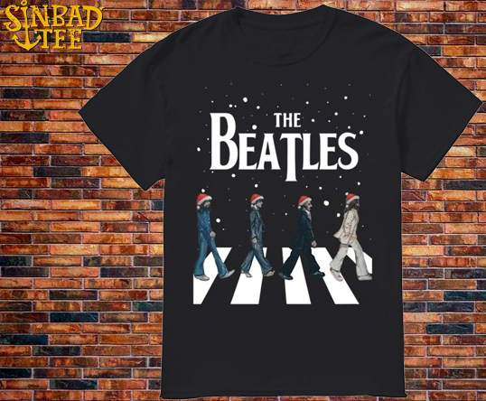 The Beatles Walking Across Abbey Road Shirt