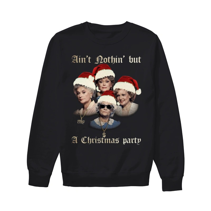 The Golden Girl Ain't Nothin But A Christmas Party Sweater