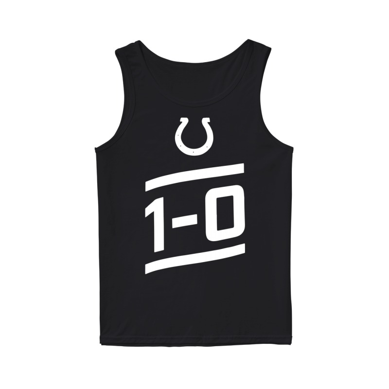 Indianapolis Colts 1 0 Tank Top
