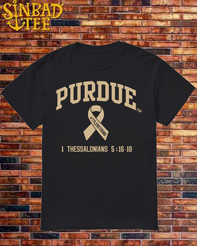 Purdue Carsen Edwards #TylerStrong Shirt