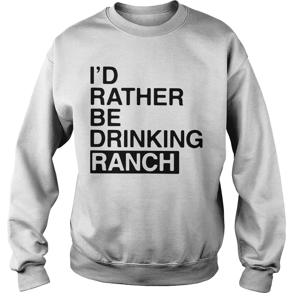I'd Rather Be Drinking Ranch Sweater
