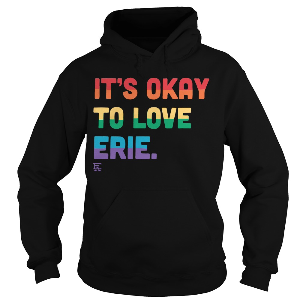 It's Okay to Love Erie Pride Hoodie