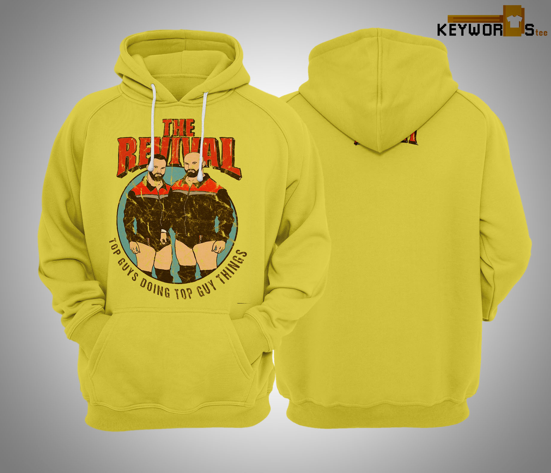 Scott Dawson The Revival Say Yeah Hoodie