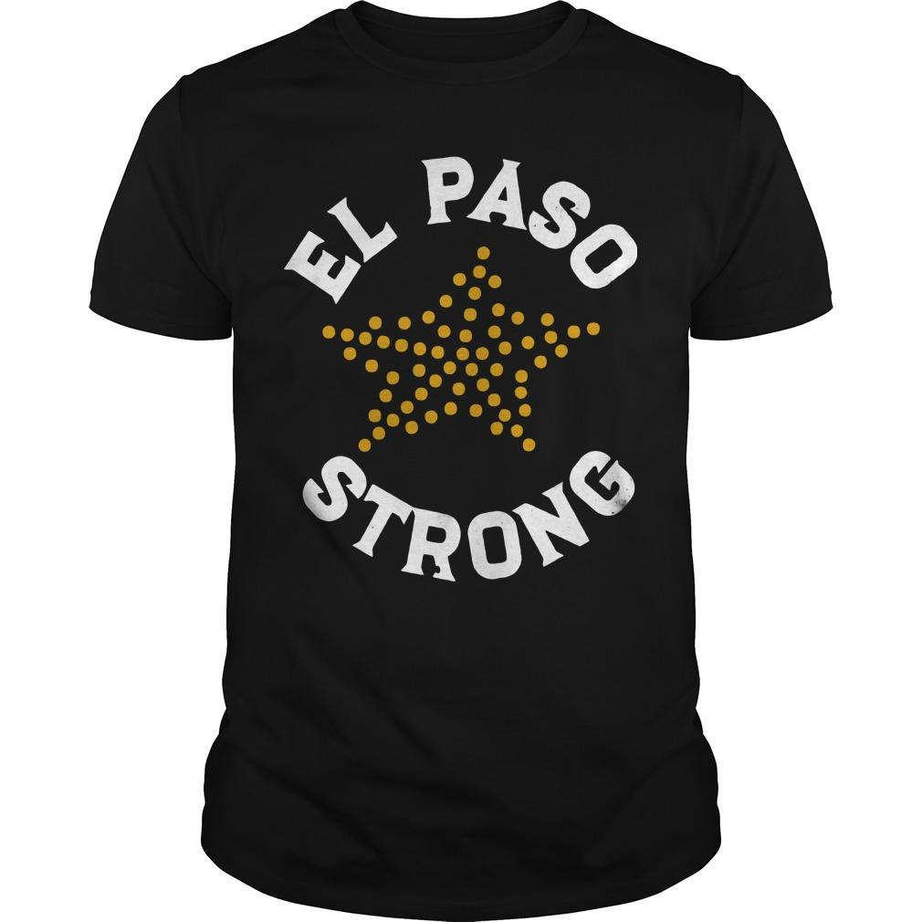 El Paso Strong Victim's Fund Shirt