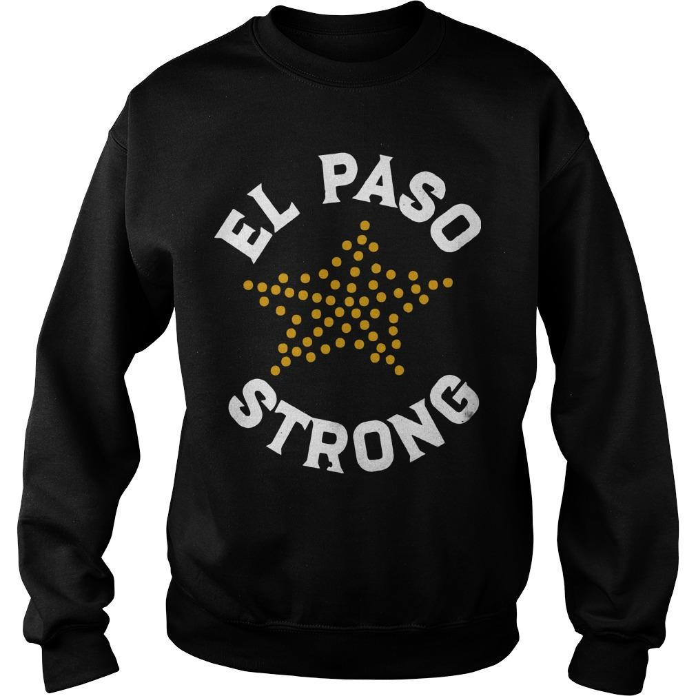 El Paso Strong Victim's Fund Sweater