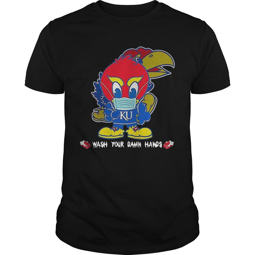 Covid 19 Kansas Jayhawks Wash Your Damn Hands Shirt