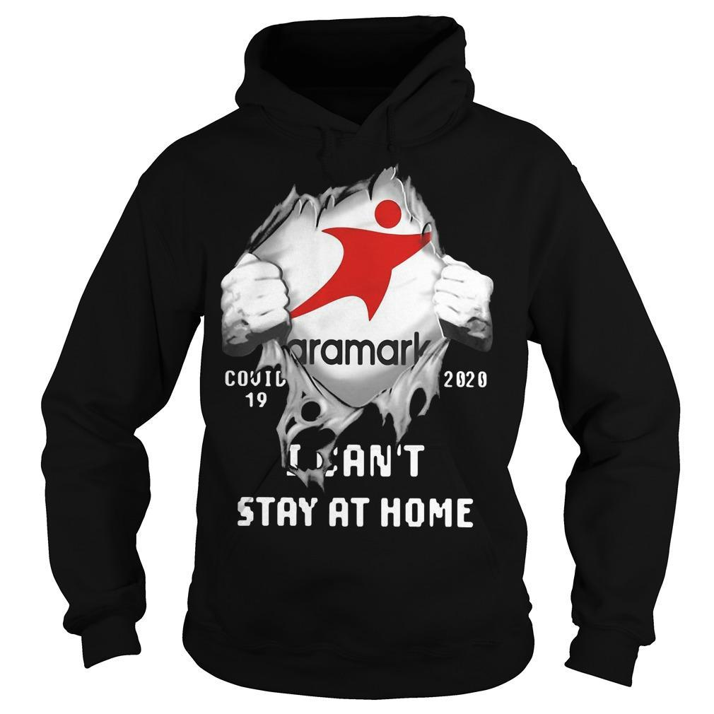 Aramark Inside Me Covid 19 2020 I Can't Stay At Home Hoodie