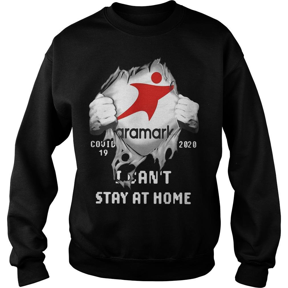 Aramark Inside Me Covid 19 2020 I Can't Stay At Home Sweater