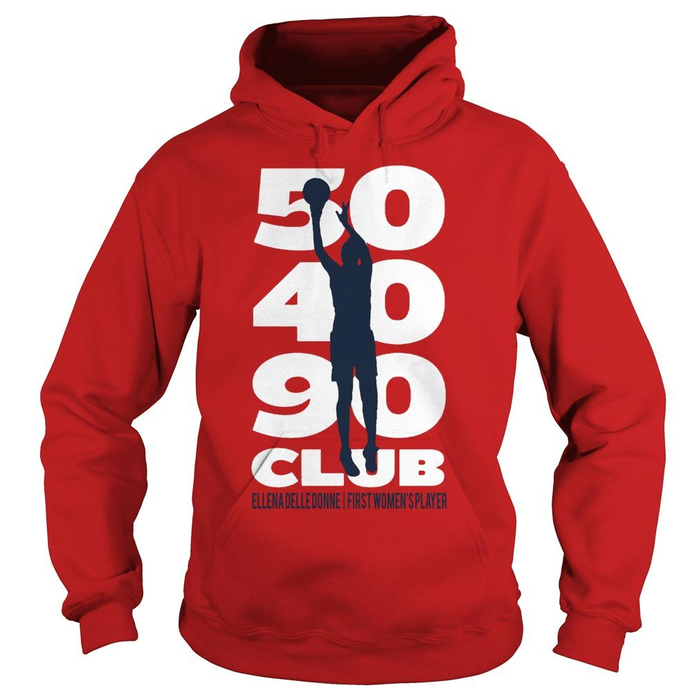 50 40 90 Club Elena Delle Donne First Women's Player Hoodie