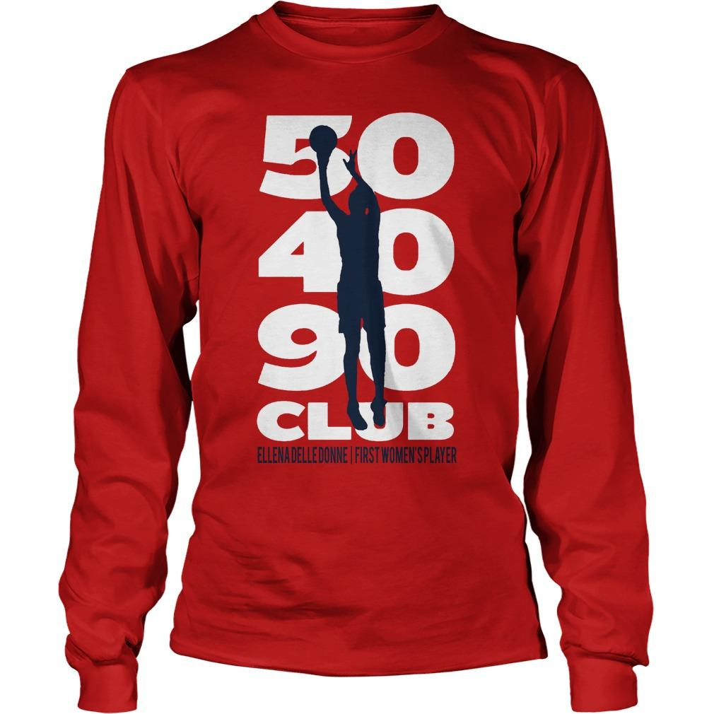50 40 90 Club Elena Delle Donne First Women's Player Longsleeve