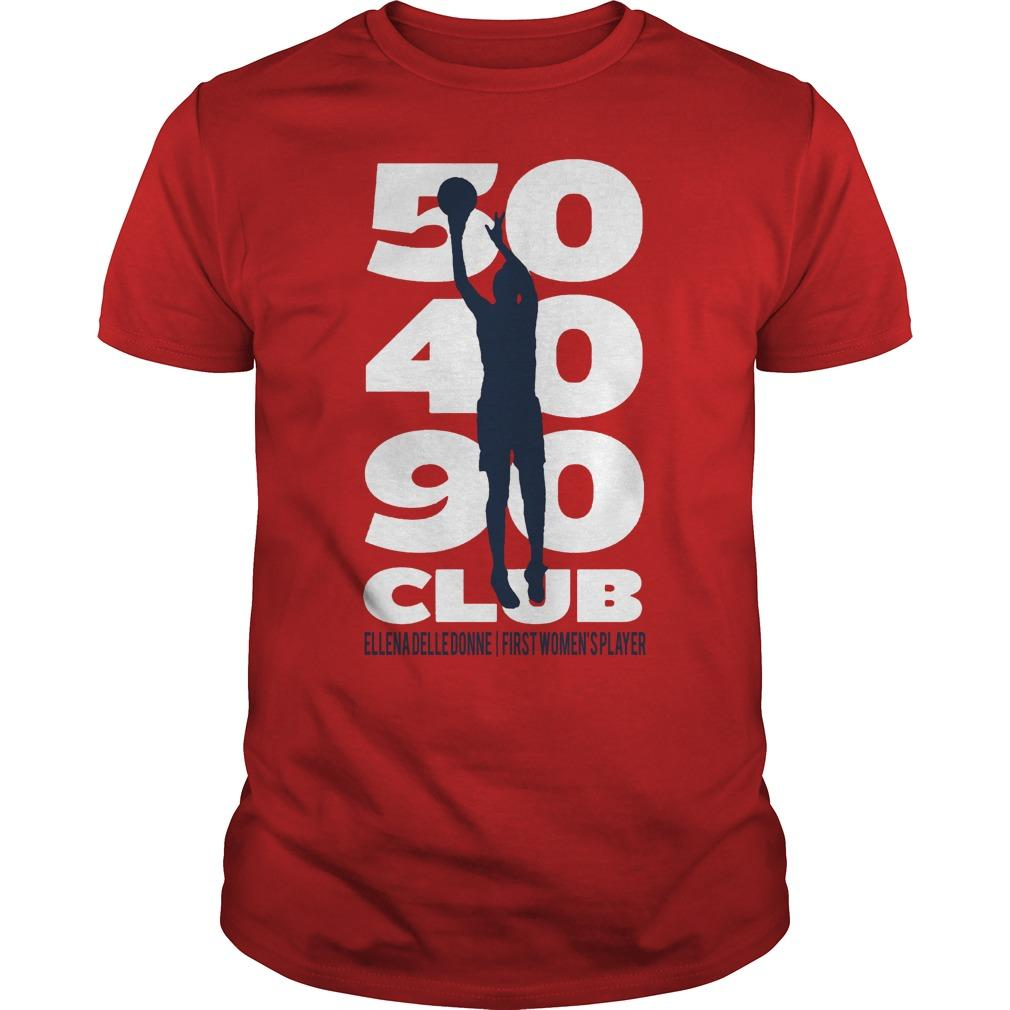 50 40 90 Club Elena Delle Donne First Women's Player Shirt