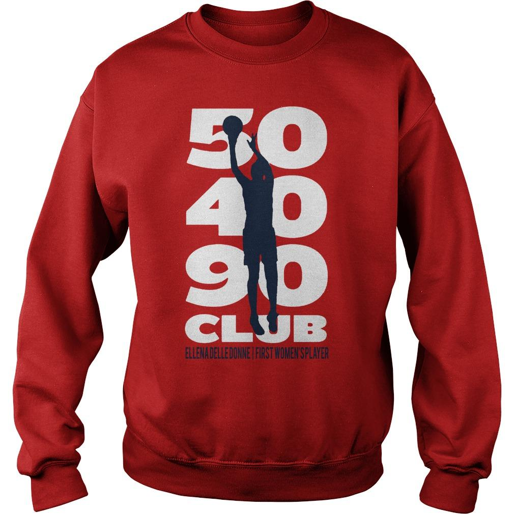 50 40 90 Club Elena Delle Donne First Women's Player Sweater