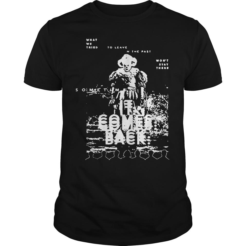 Black And White Pennywise It Comes Back Shirt