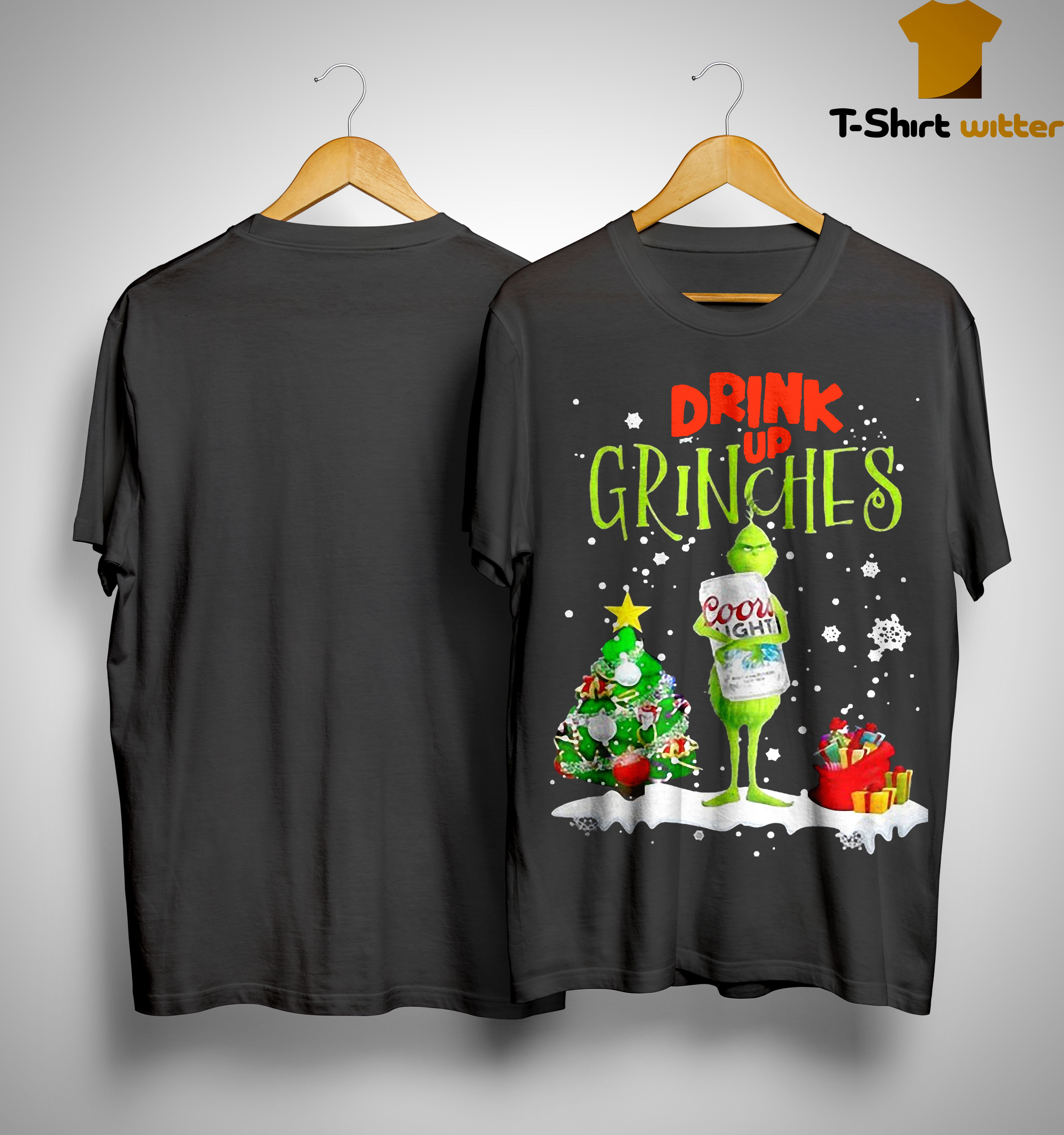Christmas Coors Light Drink Up Grinches Shirt