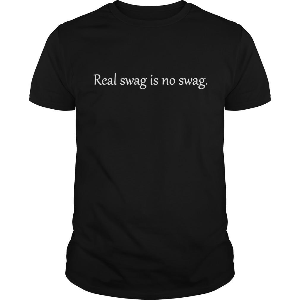 Daniel Jones Real Swag Is No Swag Shirt