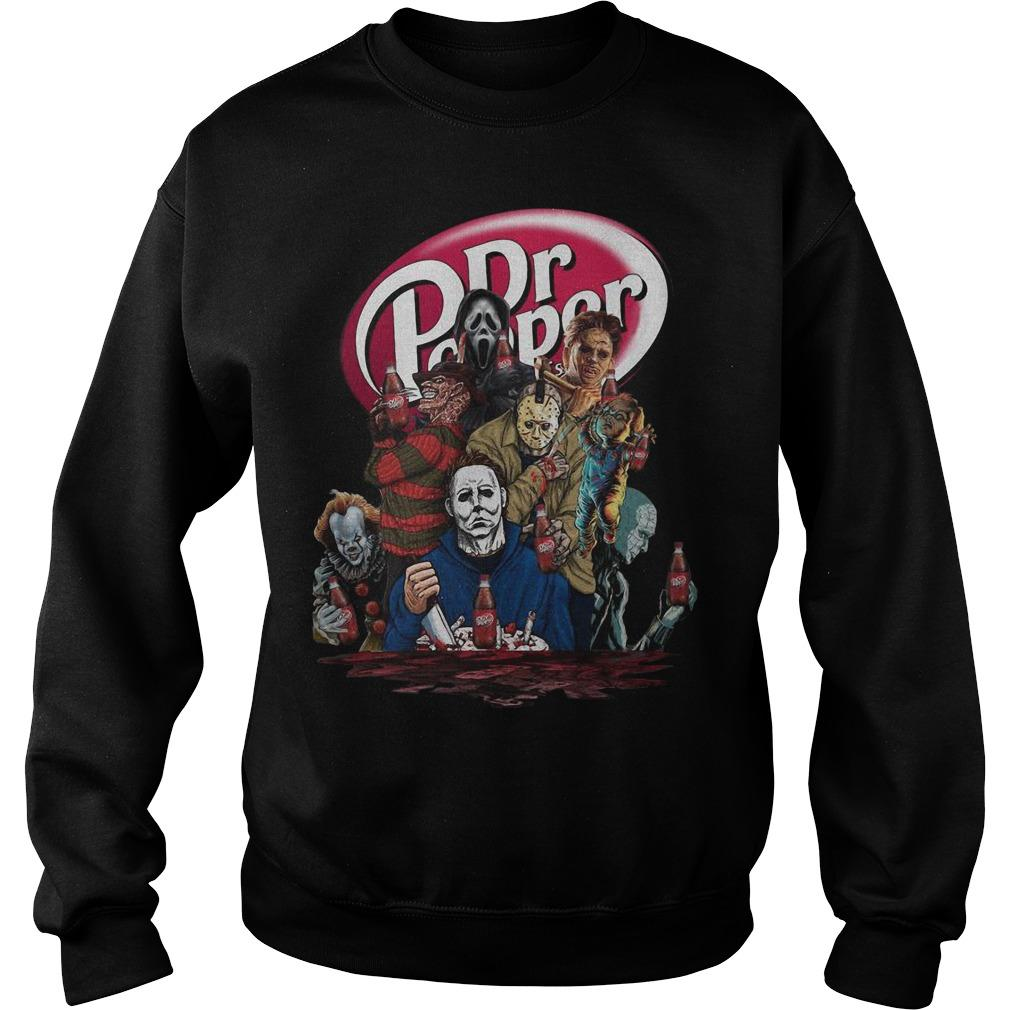 Horror Characters Dr Pepper Sweater