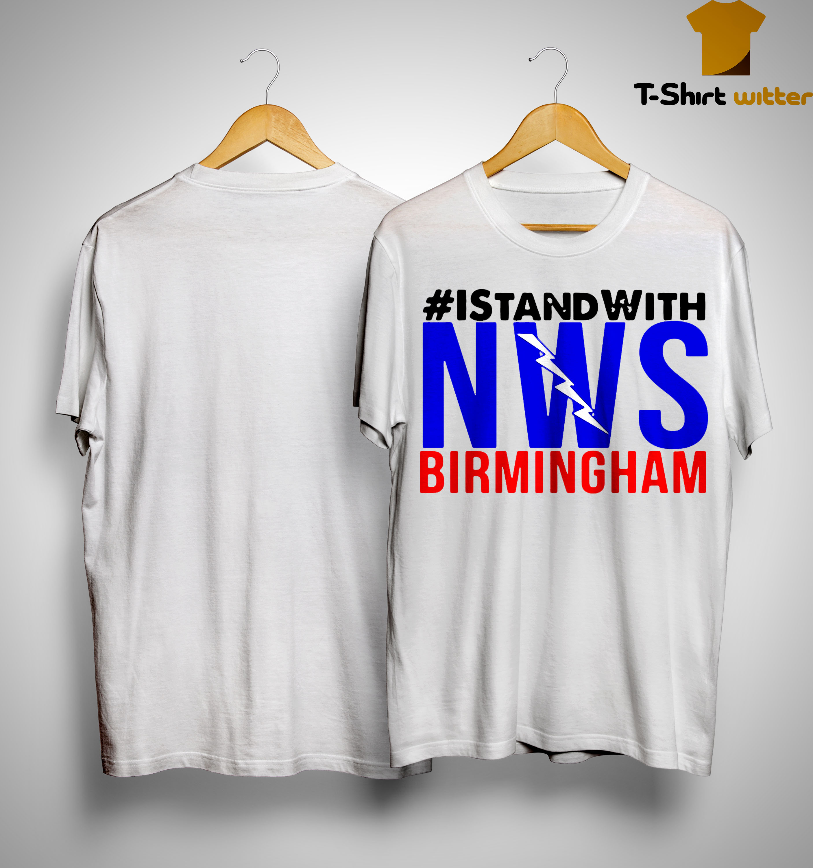 Hurricane Dorian I Stand With NWS Birmingham Shirt