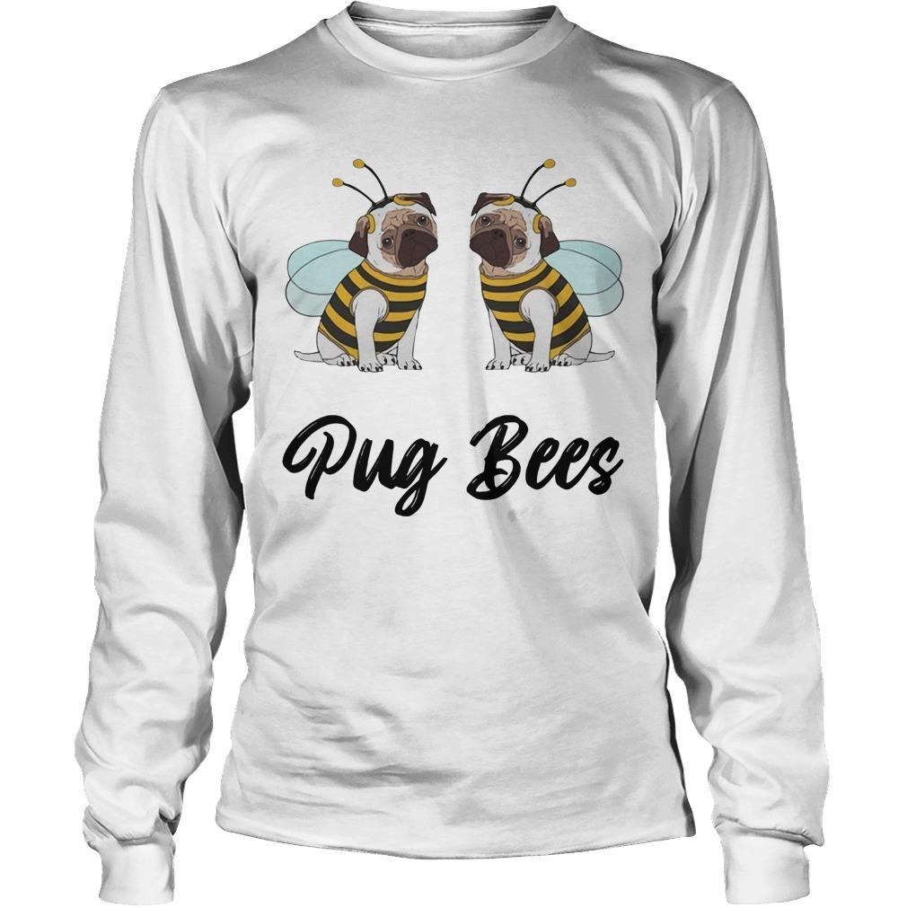 Pug Bees Longsleeve