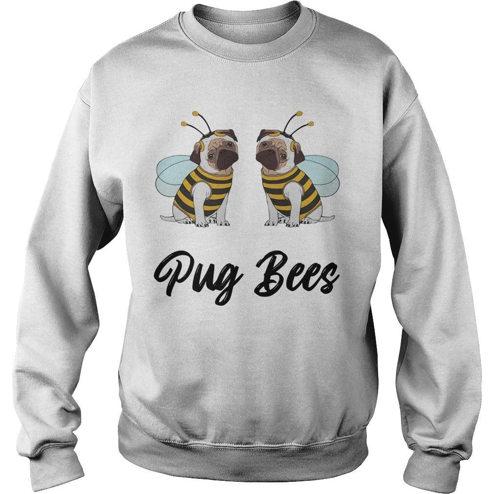 Pug Bees Sweater