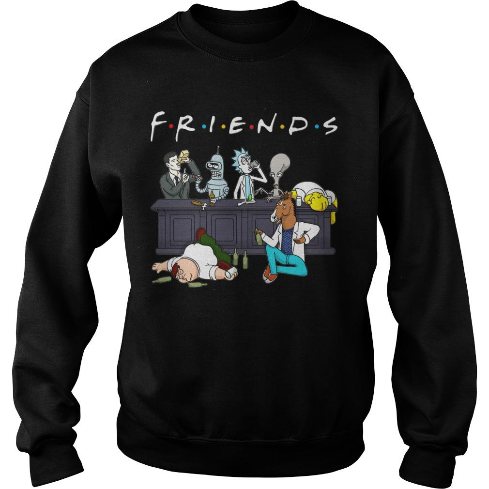 Rick And Morty Friends Tv Show Sweater