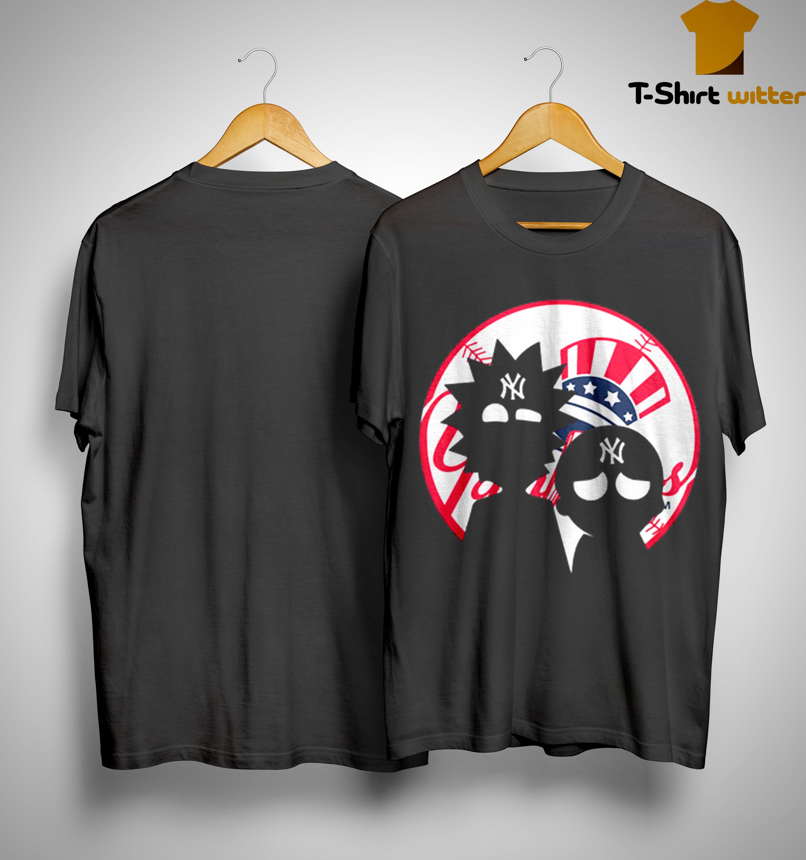 Rick And Morty New York Yankees Shirt
