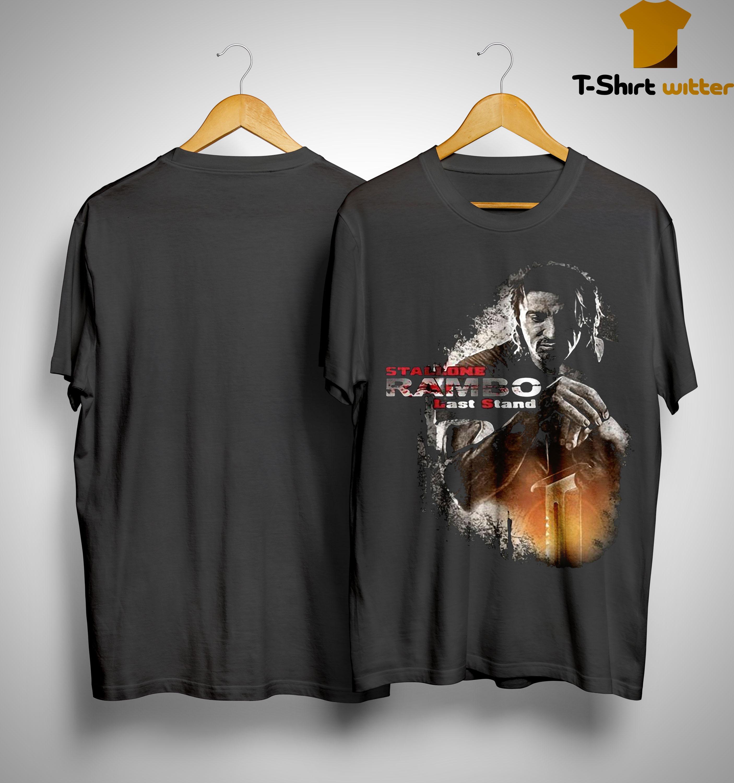 Stallone Rambo Last Stand Shirt