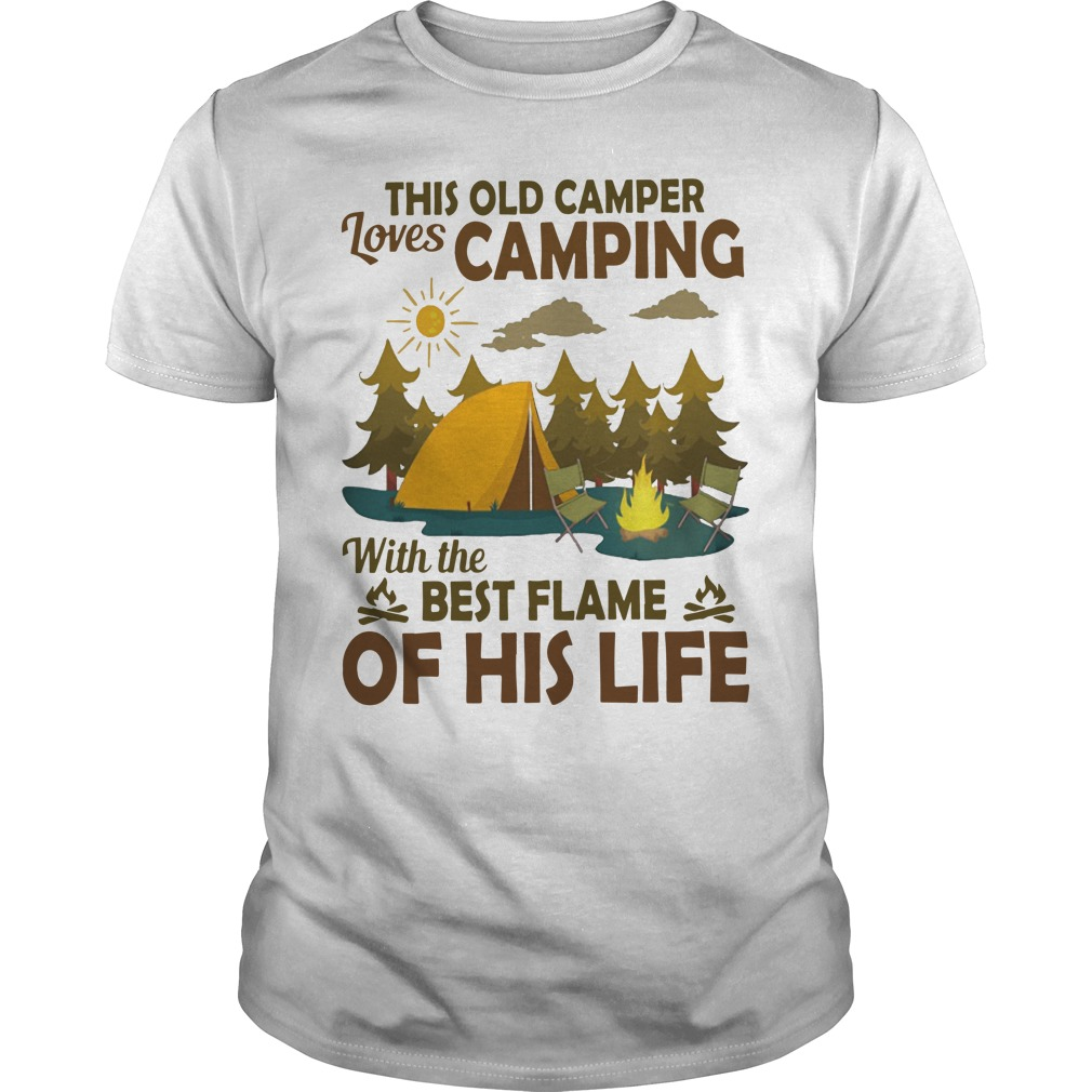 This Old Camper Loves Camping With The Best Flame Of His Life