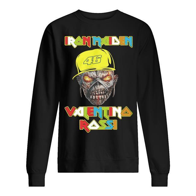 46 Racer Iron Maiden Valentino Rossi Sweater