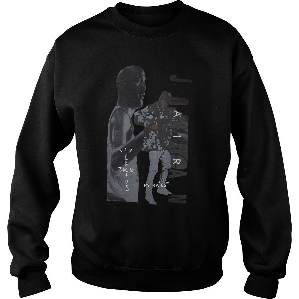 Air Jordan 6 Merch Travis Scott T Sweater