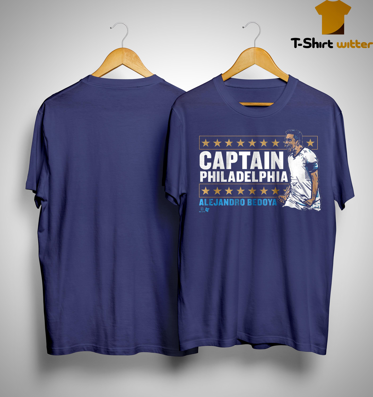 Alejandro Bedoya Captain Philadelphia Shirt