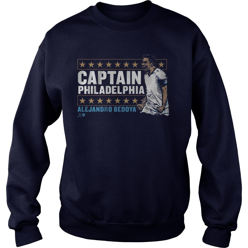 Alejandro Bedoya Captain Philadelphia Sweater