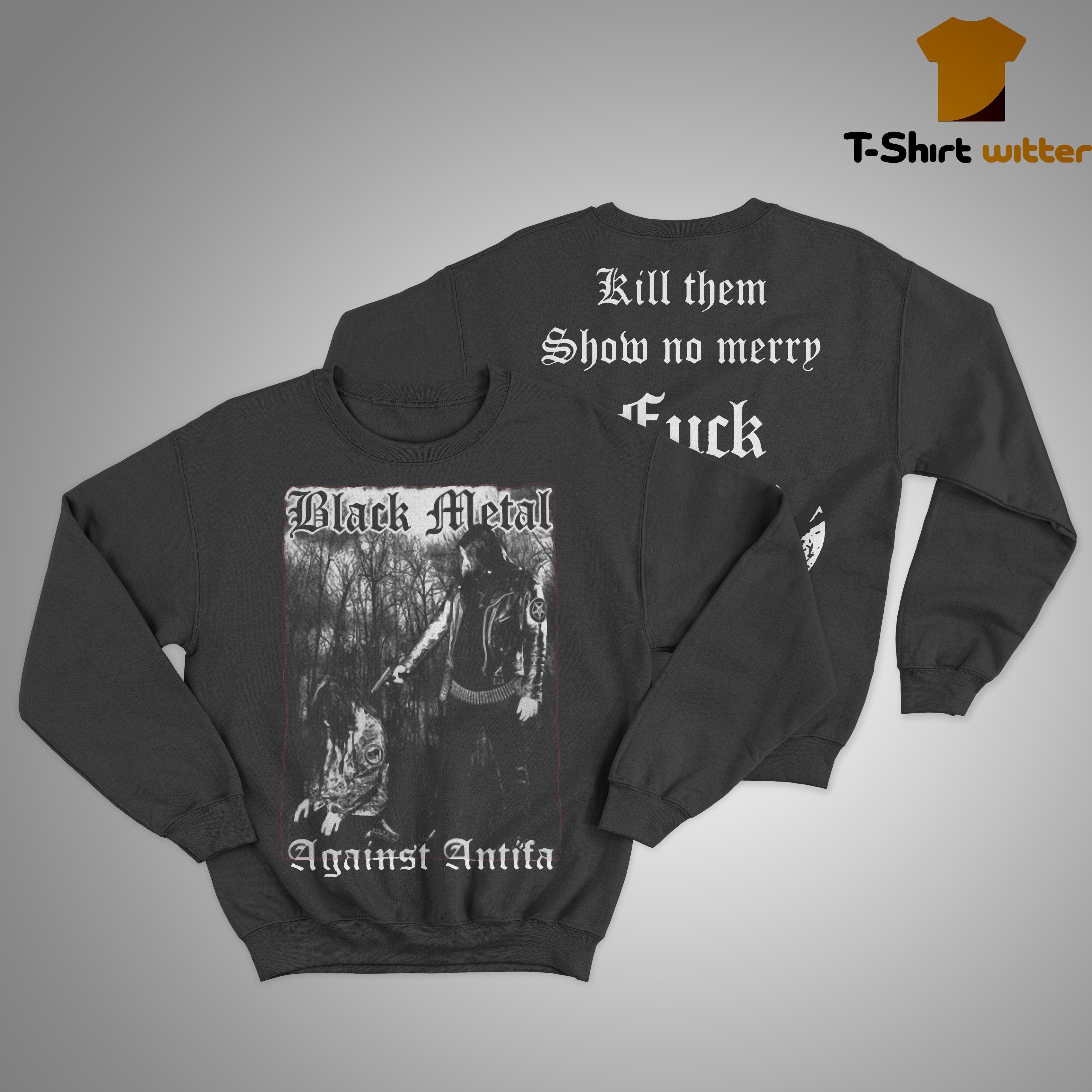 Behemoth Frontman Black Metal Against Antifa Sweater