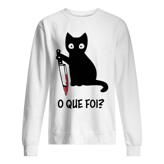 Black Cat O Que Foi Sweater