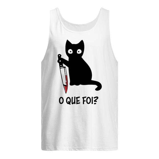 Black Cat O Que Foi Tank Top