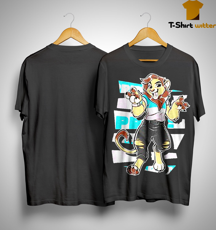 Charlie The Trans Pride Lion Transmasculine Shirt