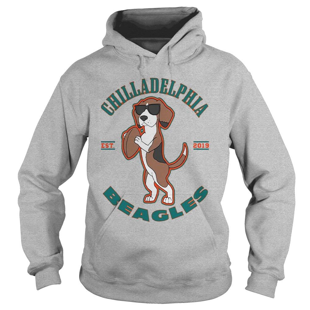 Chilladelphia Beagles Est 2019 Hoodie