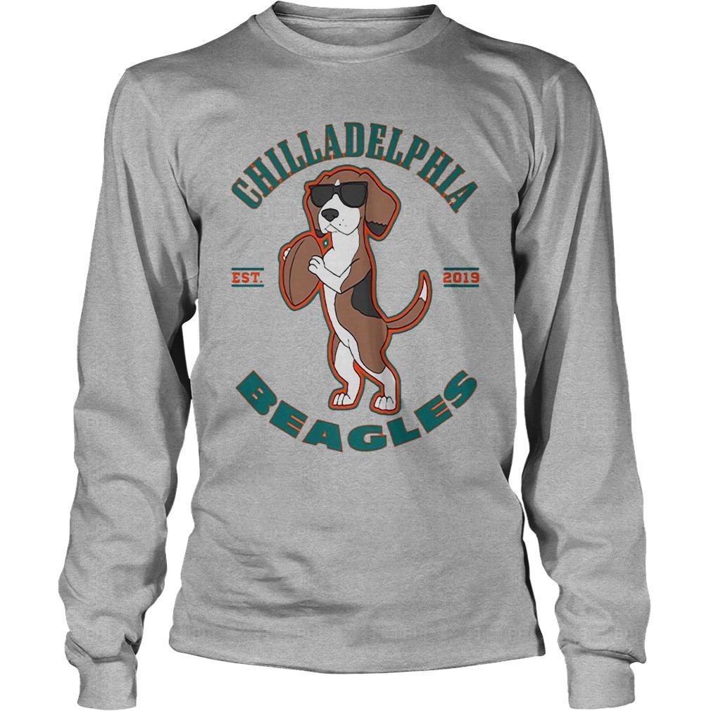 Chilladelphia Beagles Est 2019 Longsleeve