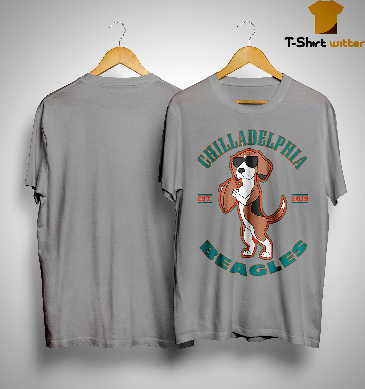 Chilladelphia Beagles Est 2019 Shirt