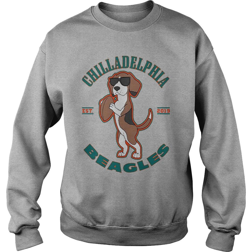 Chilladelphia Beagles Est 2019 Sweater