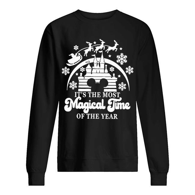 Christmas Disney It's The Most Magical Time Of The Year Sweater