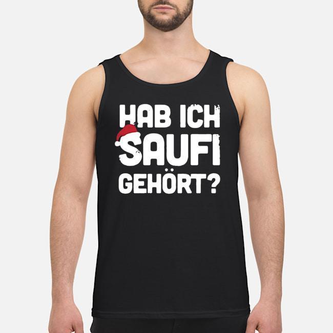 Christmas Hab Ich Saufi Gehort Tank Top