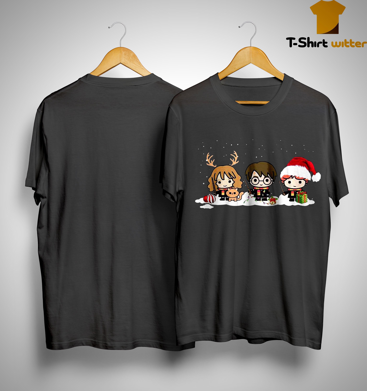 Christmas Harry Potter Hermione Granger Ron Weasley Shirt