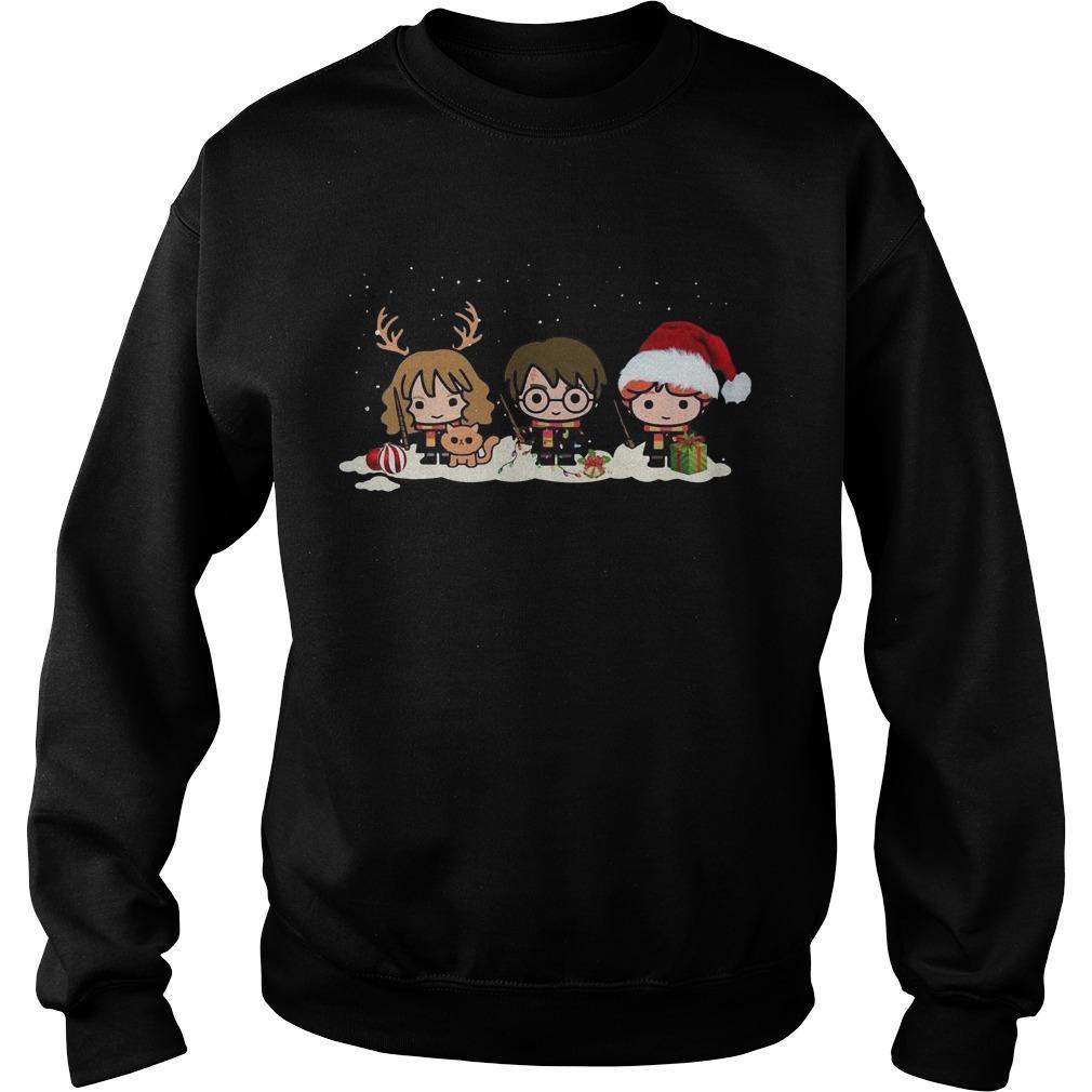 Christmas Harry Potter Hermione Granger Ron Weasley Sweater